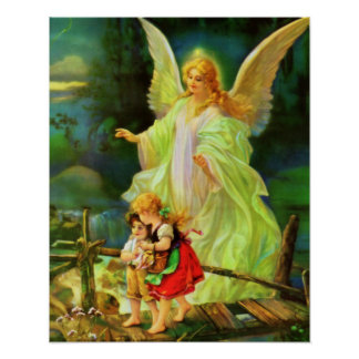 Guardian Angel by the Bridge Poster 01