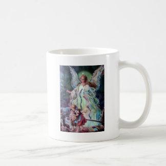 GUARDIAN ANGEL c. 1900 Classic White Coffee Mug