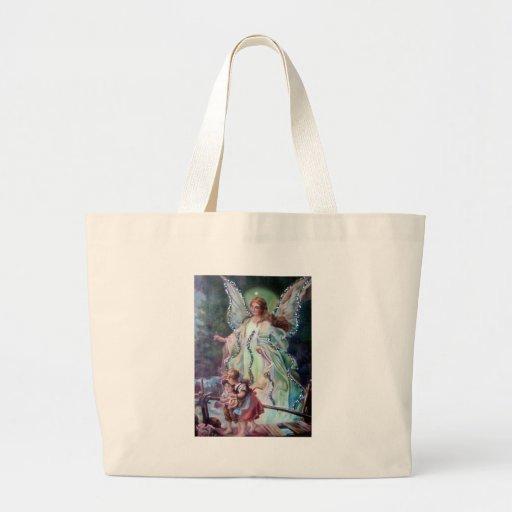 GUARDIAN ANGEL c. 1900 Tote Bags