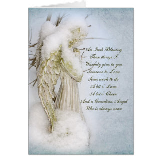 Guardian Angel Stationery Note Card