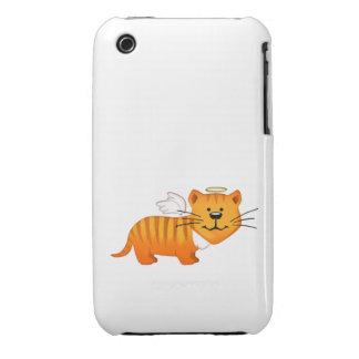 Guardian Angel Cat iPhone 3 Case-Mate Case
