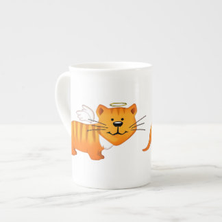 Guardian Angel Cat Tea Cup