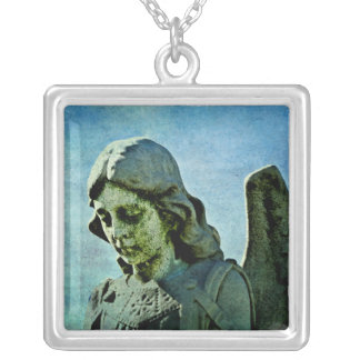 Guardian Angel Cemetery Art Necklaces