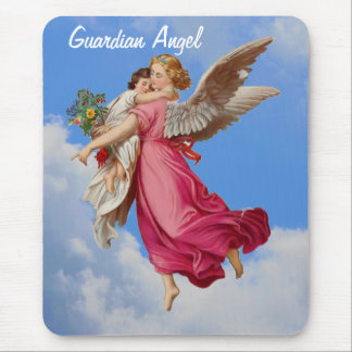 Guardian Angel Child Inspirational Mousepad