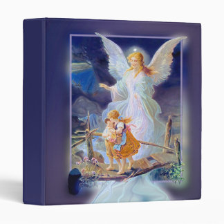 Guardian Angel, Children and Bridge 3 Ring Binder