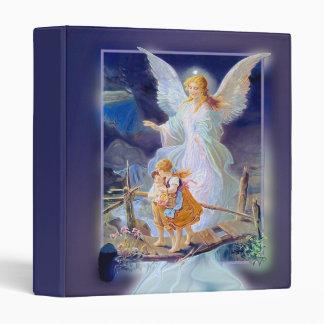 Guardian Angel, Children and Bridge 3 Ring Binder