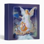 Guardian Angel, Children and Bridge 3 Ring Binders