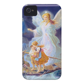 Guardian Angel, Children and Bridge iPhone 4 Case-Mate Case