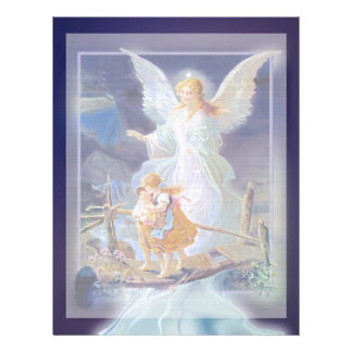 Guardian Angel, Children and Bridge Letterhead
