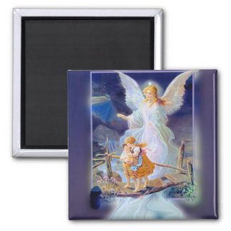 Guardian Angel, Children and Bridge Magnet
