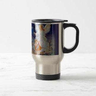 Guardian Angel, Children and Bridge Travel Mug