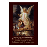Guardian Angel, Children, Bridge Poster