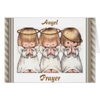 Guardian Angel Christmas Greeting Card
