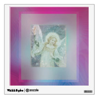 Guardian Angel Collage by Amelia Carrie featuring Wall Decal