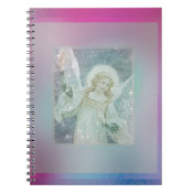 Guardian Angel Collage by Amelia Carrie Notebook (<em>$13.70</em>)