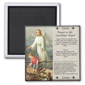 Guardian Angel Custom Fridge Magnet