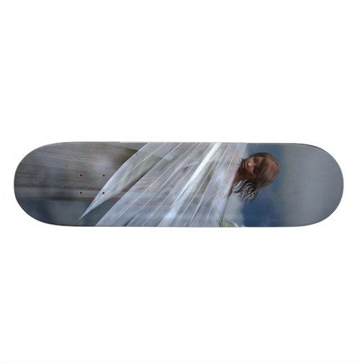 Guardian Angel Custom Skateboard