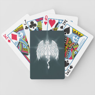 Guardian Angel Dragon Bicycle Playing Cards