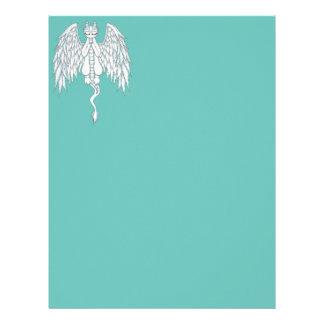Guardian Angel Dragon Letterhead