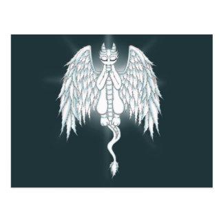 Guardian Angel Dragon Postcard