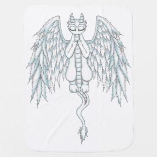 Guardian Angel Dragon Receiving Blanket