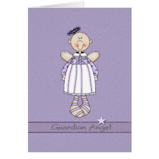 Guardian Angel for Cancer patient Card