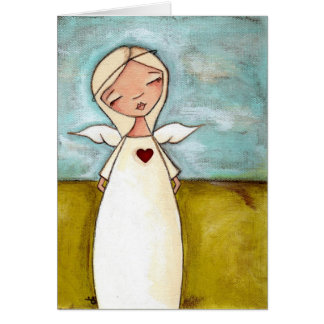 Guardian Angel - Greeting Card