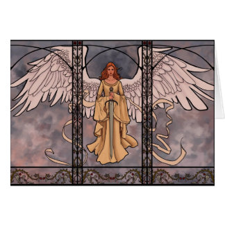 Guardian Angel Greeting Card