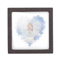 Guardian Angel in a Heart Jewelry Box