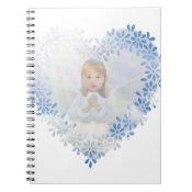 Guardian Angel in a Heart Notebook (<em>$13.70</em>)