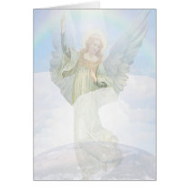 Guardian Angel in the Clouds