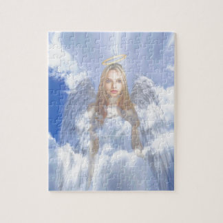 Guardian Angel in the Clouds Puzzle