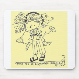 Guardian Angel Mouse Pad