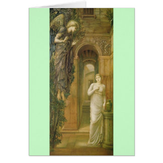 Guardian Angel notecard Stationery Note Card