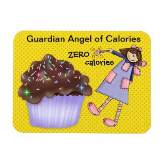 Guardian Angel of Calories - SRF Rectangular Photo Magnet