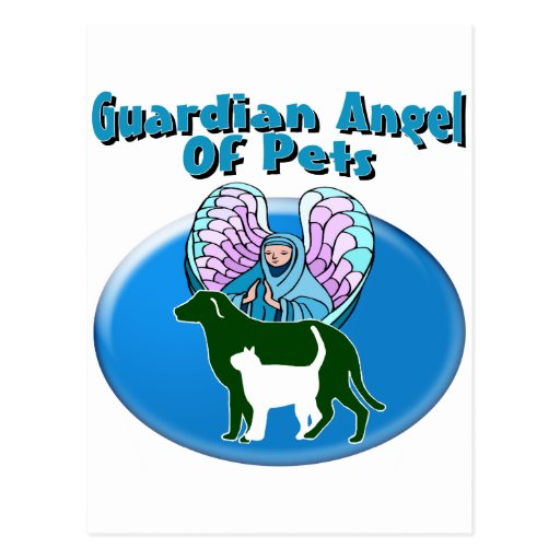 Guardian Angel Of Pets Postcard
