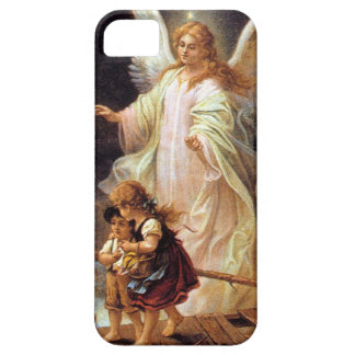 Guardian Angel or Angel on the Bridge iPhone SE/5/5s Case