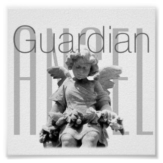 Guardian Angel personalized Poster