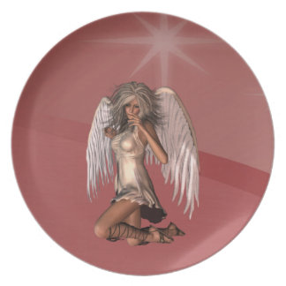 Guardian Angel  Plate