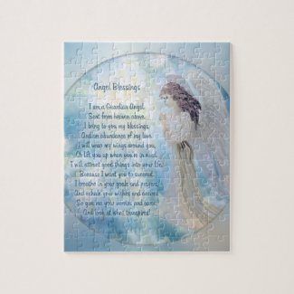 Guardian Angel, Poem Jigsaw Puzzle