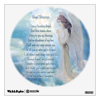 Guardian Angel Poem Wall Decal