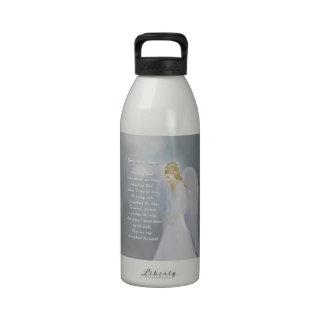 Guardian Angel Poem Reusable Water Bottles