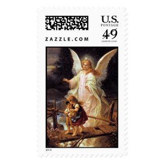Guardian Angel Postage Stamp