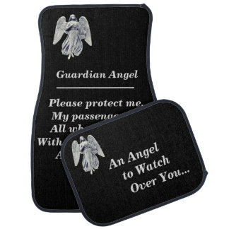 Guardian Angel Prayer Car Floor Mat