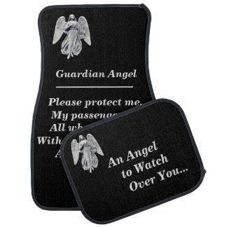 Guardian Angel Prayer Car Floor Mat