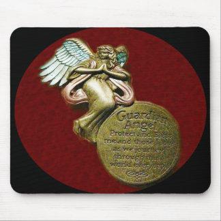Guardian Angel prayer mousepad