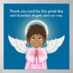 Guardian Angel Prayer Poster - SRF