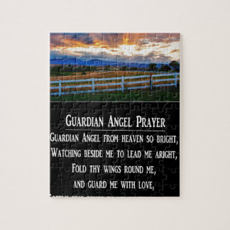 Guardian Angel Prayer Puzzle