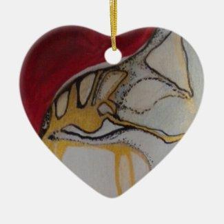 Guardian Angel Premium Square Christmas Ornament