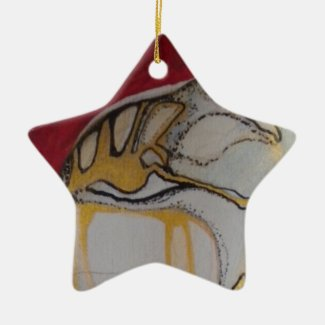 Guardian Angel Premium Square Christmas Ornament
